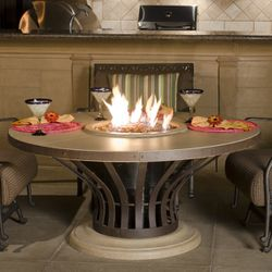 Fiesta Dining Gas Fire Pit Table