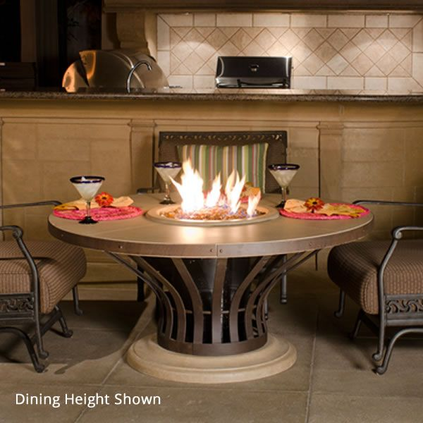 Fiesta Gas Fire Pit Table image number 0
