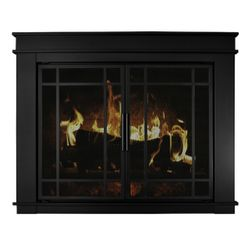 Finley Fireplace Glass Door