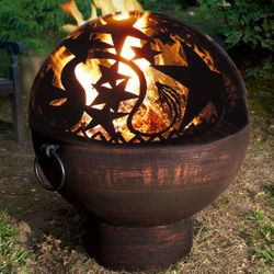 "26"" Fire Bowl with Orion Fire Dome"