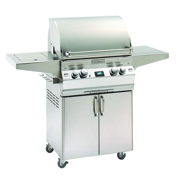 Fire Magic Aurora Cart Mount A430s Gas Grill - Single Side Burner image number 0