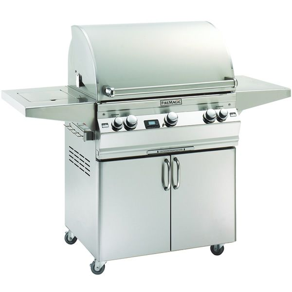 Fire Magic Aurora Cart Mount A660s Gas Grill - Single Side Burner image number 0