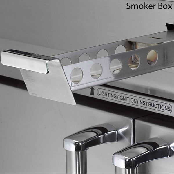 Fire Magic Aurora Cart Mount A660s Gas Grill - Single Side Burner image number 4