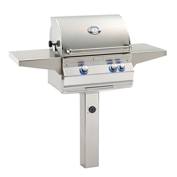 Fire Magic Aurora A430 Gas Grill - In-Ground Post Mount image number 0