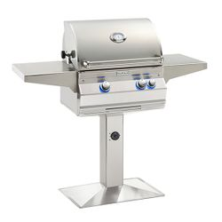 Fire Magic Aurora A430 Gas Grill - Patio Post Mount
