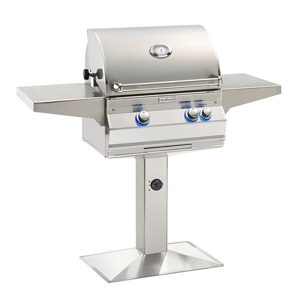 Fire Magic Aurora A430 Gas Grill - Patio Post Mount image number 0