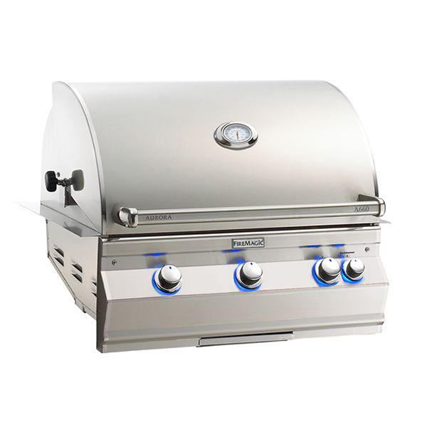 Fire Magic Aurora A660i Built-In Gas Grill image number 0