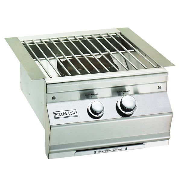 Fire Magic Built-in Power Burner with Stainless Steel Grid image number 0