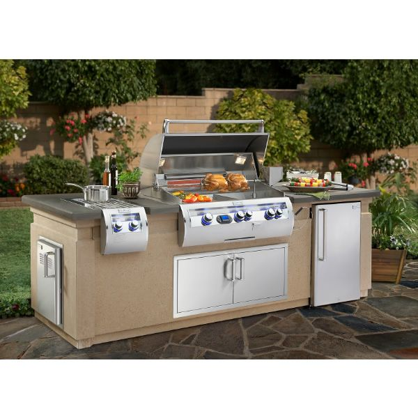 Fire Magic Deluxe Grill Island - 9' image number 0