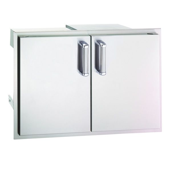 Fire Magic Double Doors with Dual Trays, Louvers & Tank Tray image number 0
