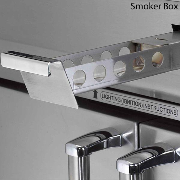 Fire Magic Echelon Diamond E660 Analog Gas Grill - Double Side Burner image number 5