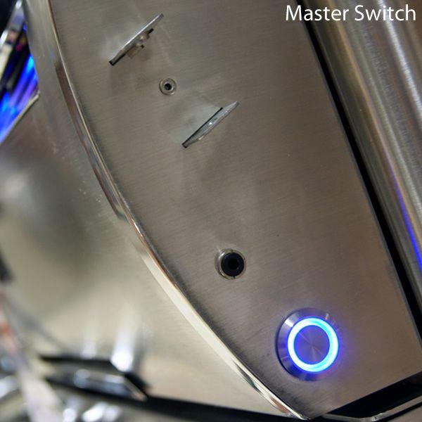 Fire Magic Echelon Diamond E660 Analog Gas Grill - Single Side Burner image number 4