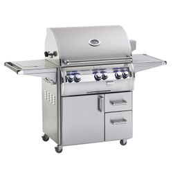 Fire Magic Echelon Diamond E660 Analog Gas Grill - Single Side Burner