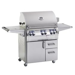 Fire Magic Echelon Diamond E790 Analog Gas Grill - Single Side Burner