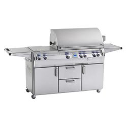 Fire Magic Echelon Diamond E790s Cart Mount Grill - Double Side Burner