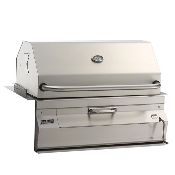 """Fire Magic Legacy Built-In Charcoal Grill-Oven/Hood - 24"""" image number 0"""