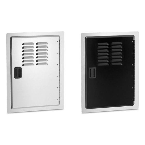 Fire Magic Legacy Single Access Door with Tank Tray & Louvers image number 0