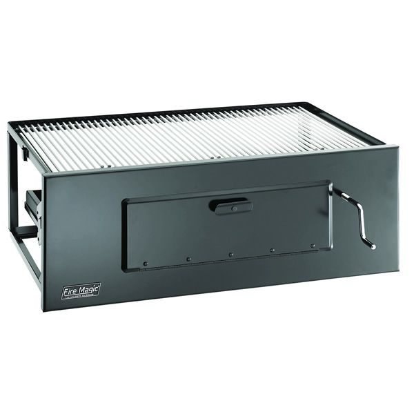 "Fire Magic Legacy Slide-In Charcoal Grill - Lift A - 23"" image number 0"