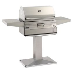 Fire Magic Legacy Patio Post Charcoal Grill