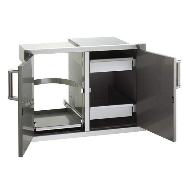Fire Magic Premium Double Doors with Dual Drawers & Trash Tray image number 0