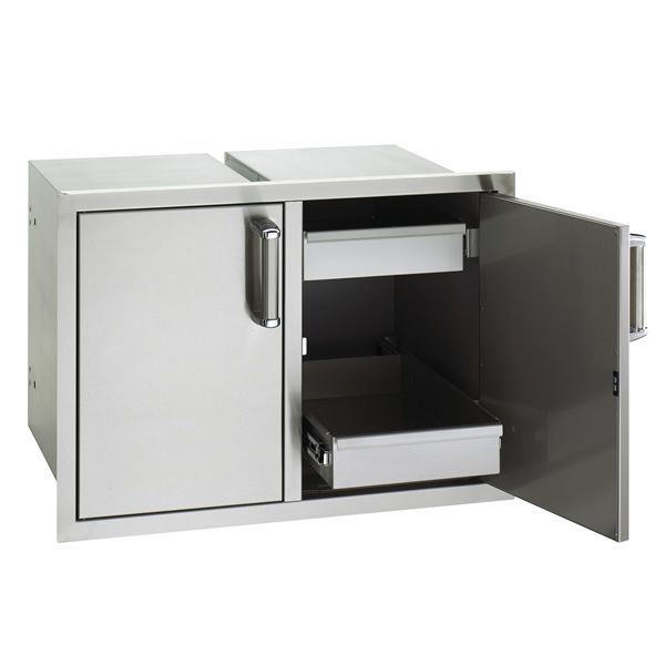Fire Magic Premium Double Doors with Dual Drawers image number 1