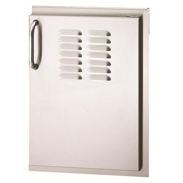 """Fire Magic Select Single Access Door with Louvers 21"""" image number 0"""