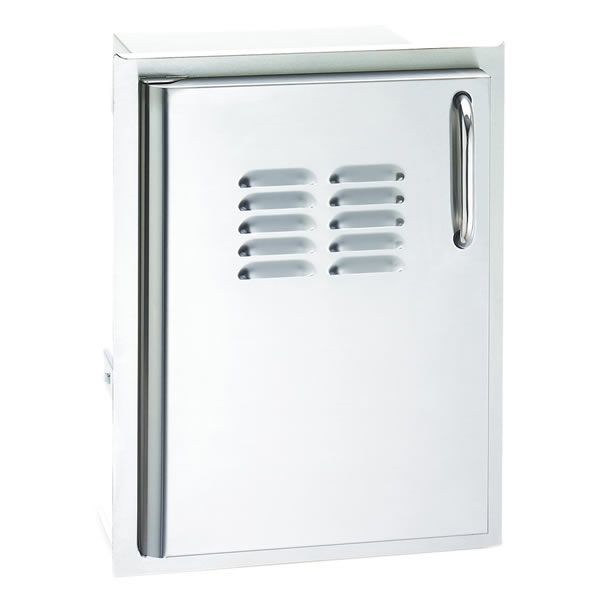 Fire Magic Select Single Access Door with Tank Trays & Louvers image number 0
