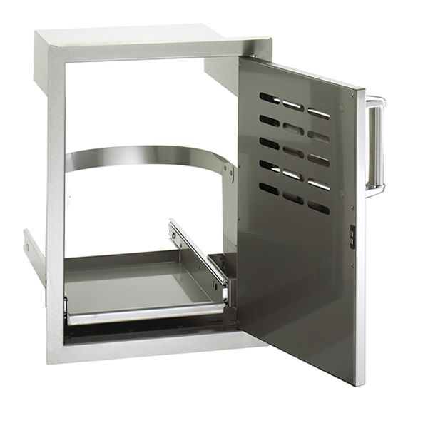 Fire Magic Single Door with Louvers & Tank Tray image number 0