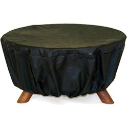 Fire Pit Cover - Black