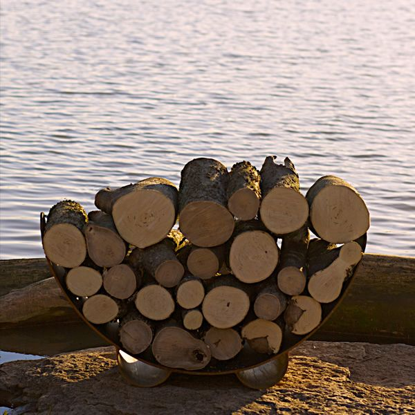 Fire Pit Art Haven Firewood Rack image number 3
