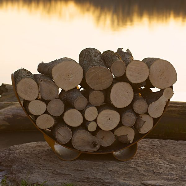 Fire Pit Art Haven Firewood Rack image number 0