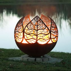 Fire Pit Gallery Autumn Sunset Fire Pit
