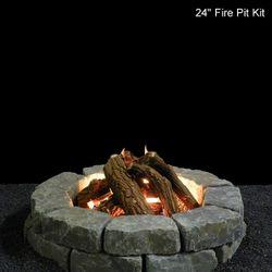 Fire Pit Gas Log Set