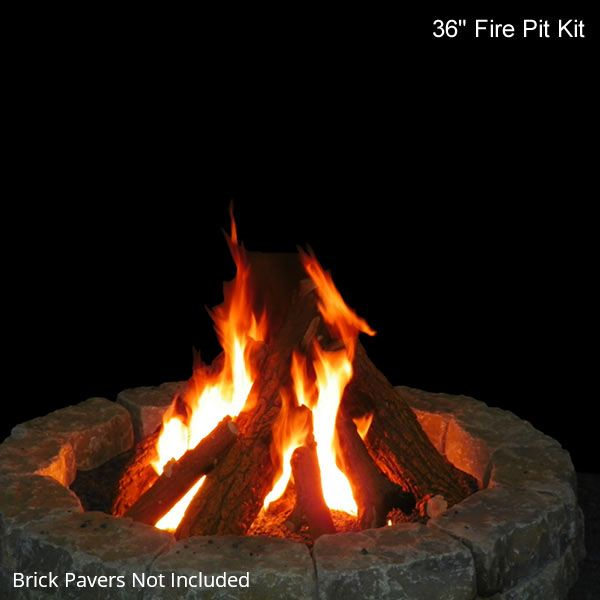 Fire Pit Gas Log Set image number 2