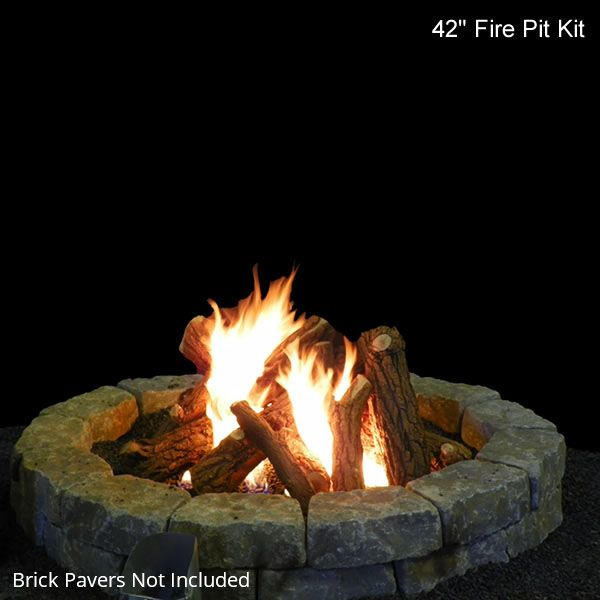 Fire Pit Gas Log Set image number 3