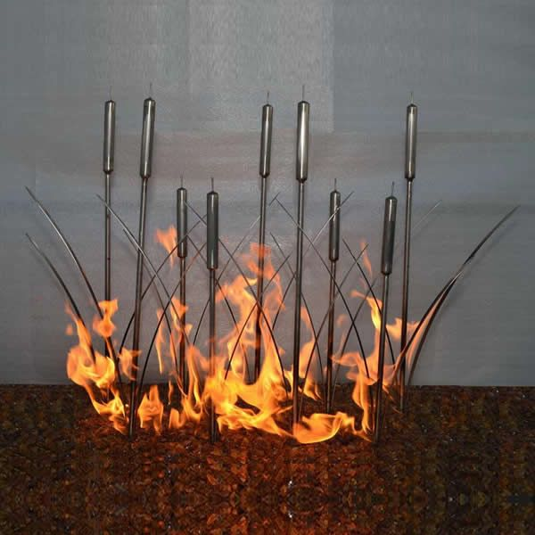 """Fire Reeds Gas Fire Pit Burner - 24"""" image number 0"""