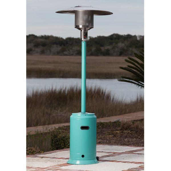 Fire Sense Aqua Blue Patio Heater image number 0