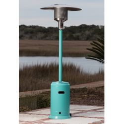 Fire Sense Aqua Blue Patio Heater