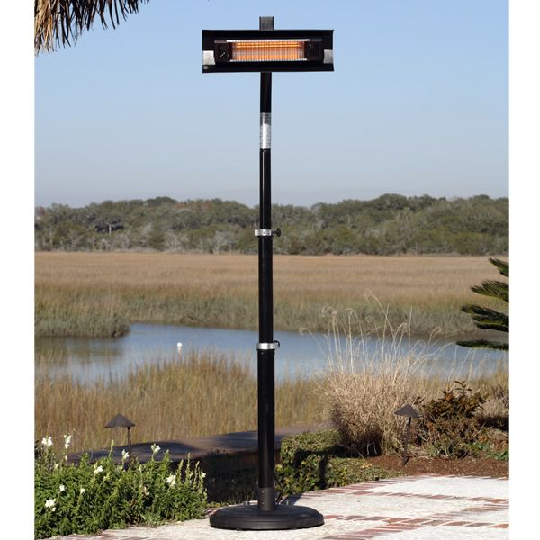 Fire Sense Telescoping Infrared Patio Heater - Black image number 1