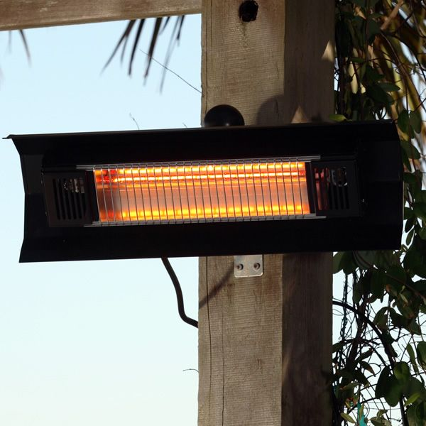 Fire Sense Wall Mounted Infrared Patio Heater - Aluminum image number 0