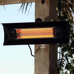 Fire Sense Wall Mounted Infrared Patio Heater - Aluminum