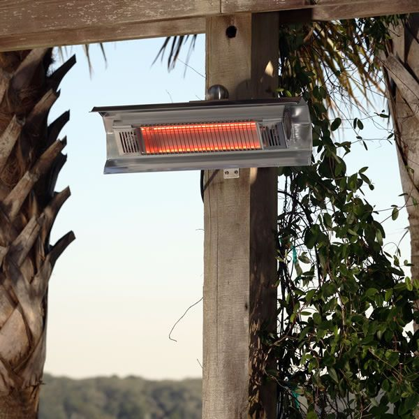Fire Sense Wall Mounted Infrared Patio Heater image number 1