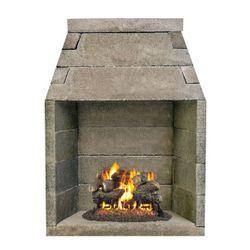 """FireRock B-Vent Fireplace - 42"""""""