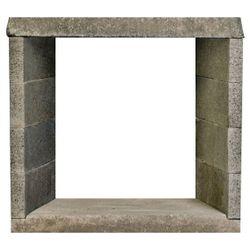 """FireRock Ventless See Through Fireplace - 48"""""""