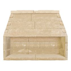 FireRock Linear Fireplace - 72""