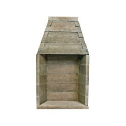 Engineered Rumford Style Masonry Fireplace System - 48""