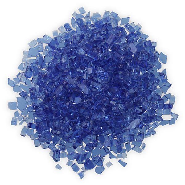"""Firegear Cobalt Reflective Fireglass 3/8""""-1/2"""" image number 0"""