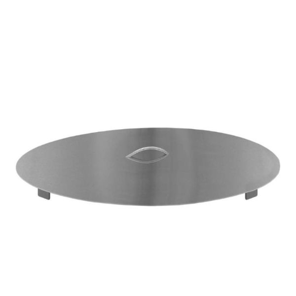 """Firegear Round Stainless Steel Lid for 33"""" Round Burner Pan image number 0"""
