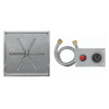 "Firegear 20"" Square SS Drop-In Burner System - Push Button image number 0"