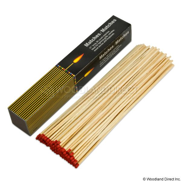 Fireplace Safety Matches - 90 count image number 0